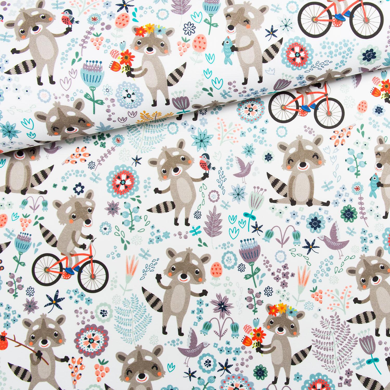 látka-bavlna-premium-medvedík-čistotný