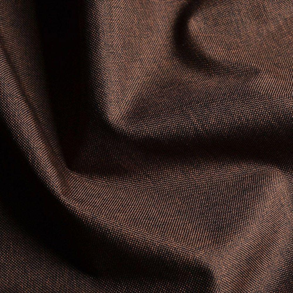 látka-nepremokavý-polyester-tmavohnedý-melír