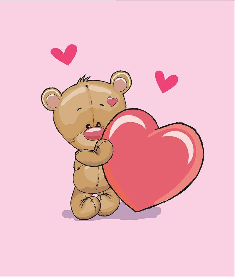 látka-bavlna-premium-panel-xl-85x100-baby-bear-pink
