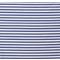 Látka úplet pásik bielo-kovovo modrý 1cm