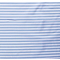Látka úplet pásik 1 cm bielo-svetlomodrý