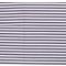 Látka úplet pásik 1 cm bielo-šedý