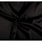 Látka strečový satén čierny