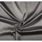 Látka strečový satén šedý