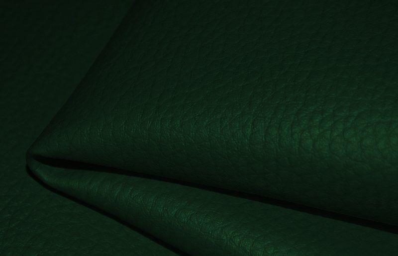 látka-ekokoža-(koženka)-farba-tmavozelená