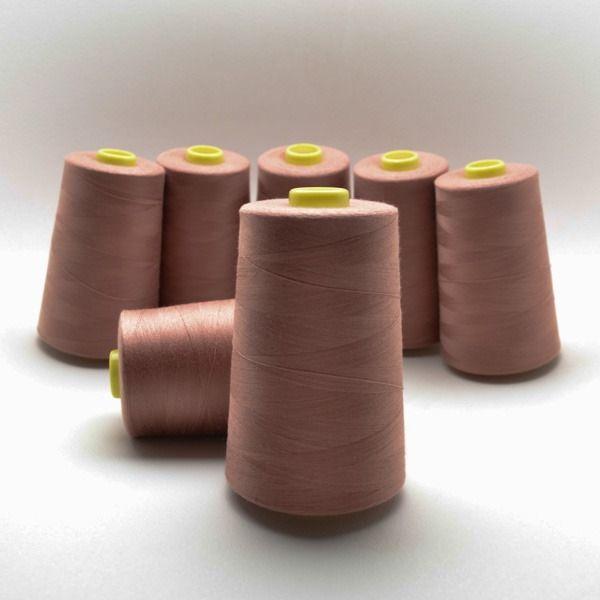 overlock/coverlock-polyesterová-niť-ntf-5000-farba-červenobéžová