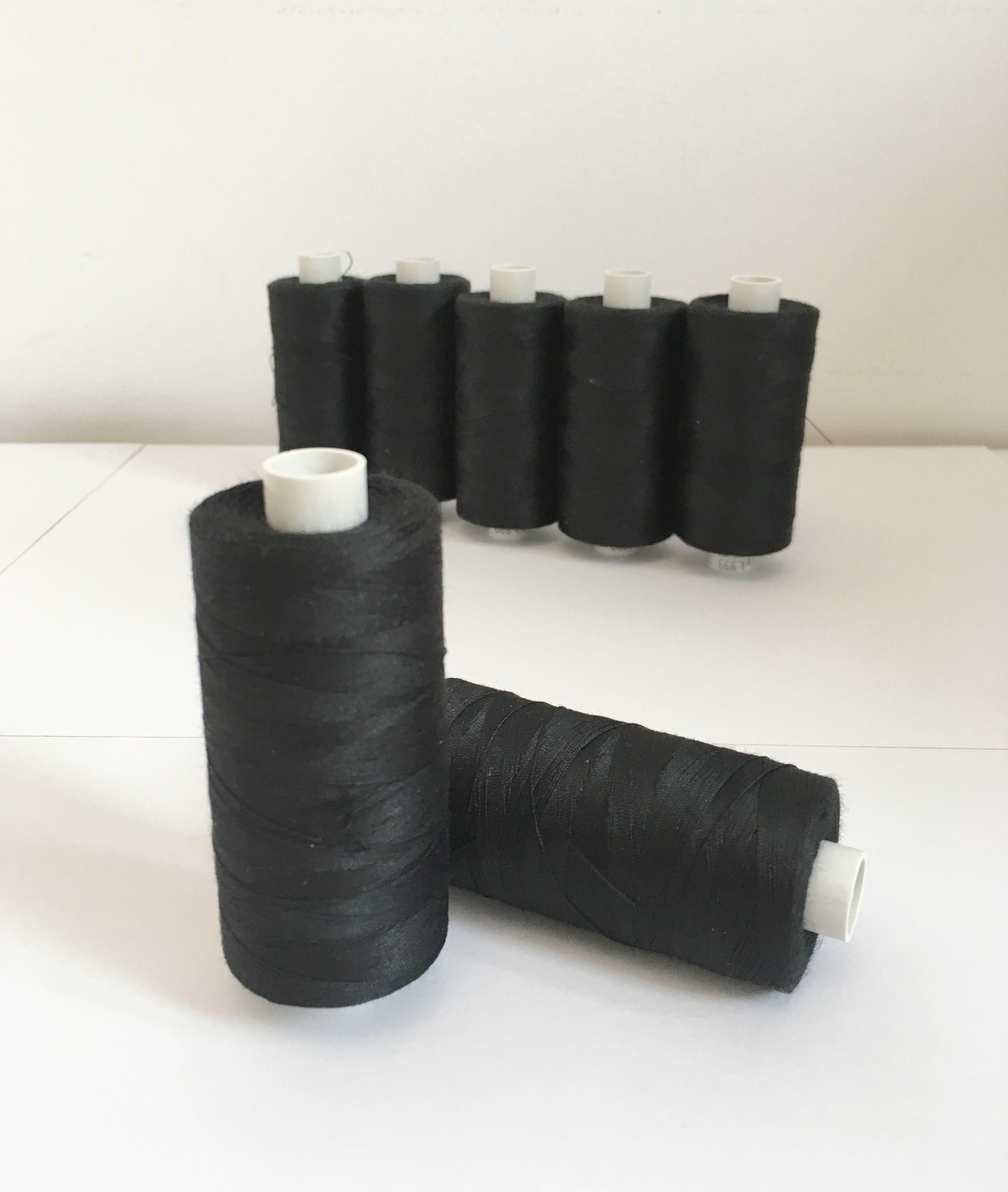 polyesterová-niť-ester-1000-farba-čierna