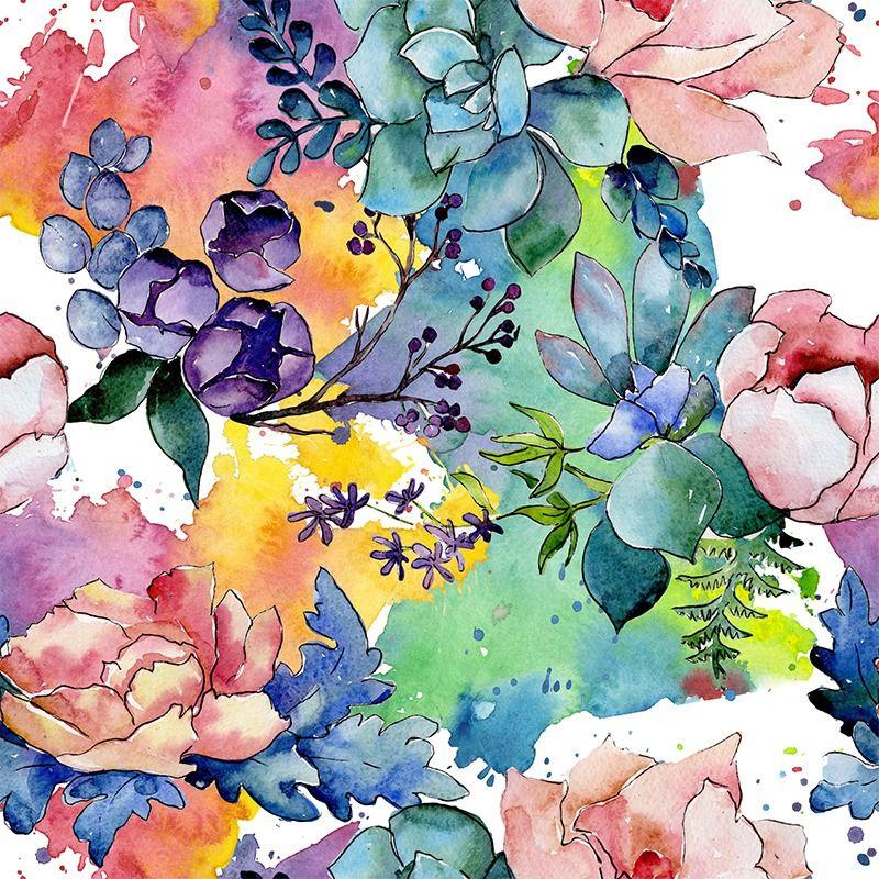 bavlna-premium-farebná-záhrada