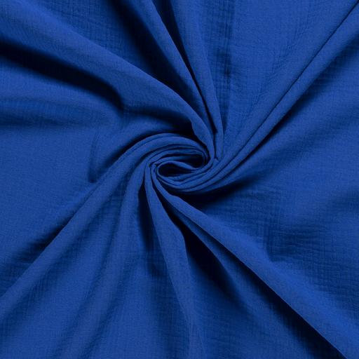 látka-mušelín/dvojitá-gázovina-paris-blue