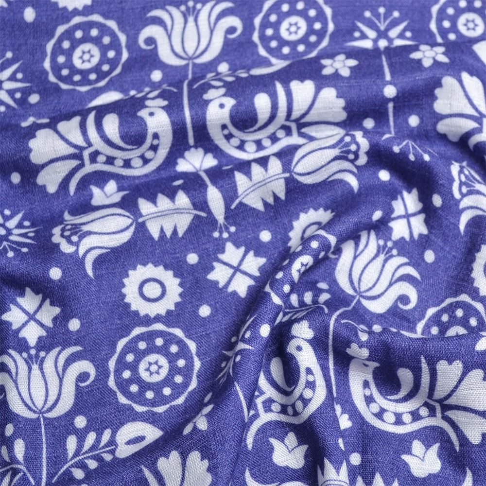 plienkový-bambusový-mušelín-výšivka-jablonica-modrá