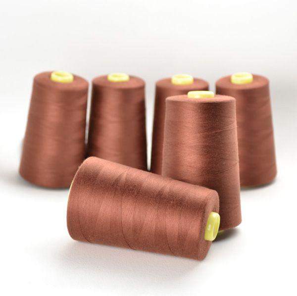 overlock/coverlock-polyesterová-niť-ntf-5000-farba-gaštanová