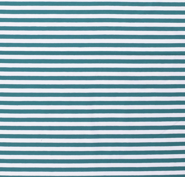 látka-úplet-pásik-1-cm-biely-lesný-tyrkysový
