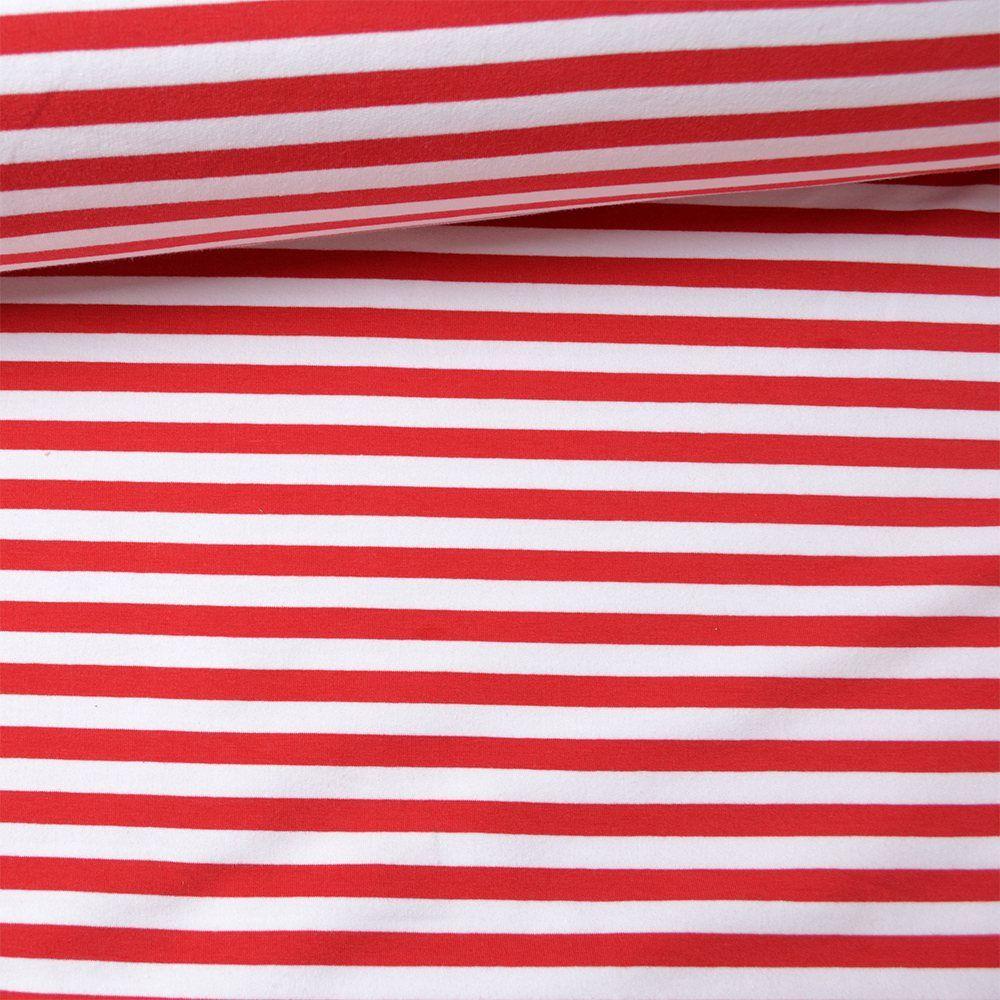 látka-teplákovina-bieločervený-pásik