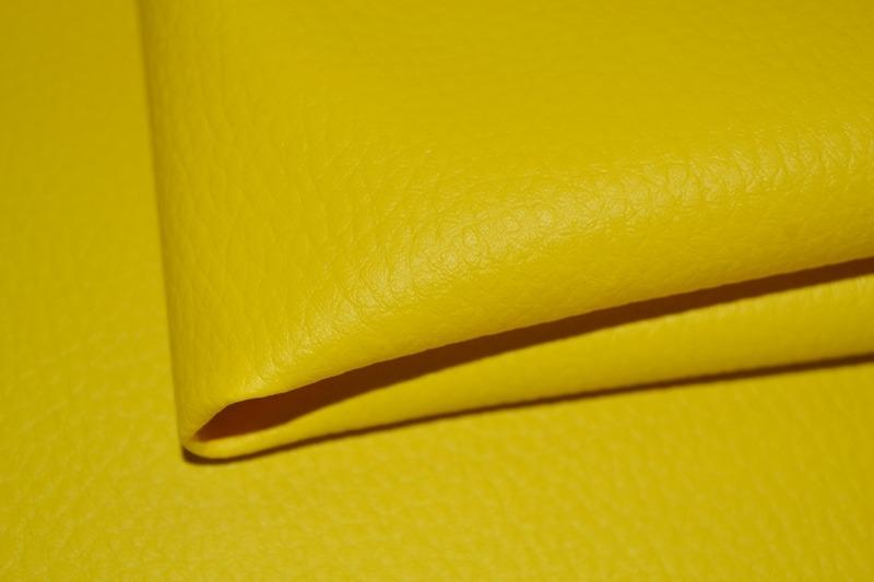 látka-ekokoža-(koženka)-farba-žltá