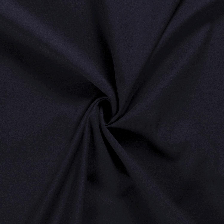 látka-gabardén-tmavomodrá