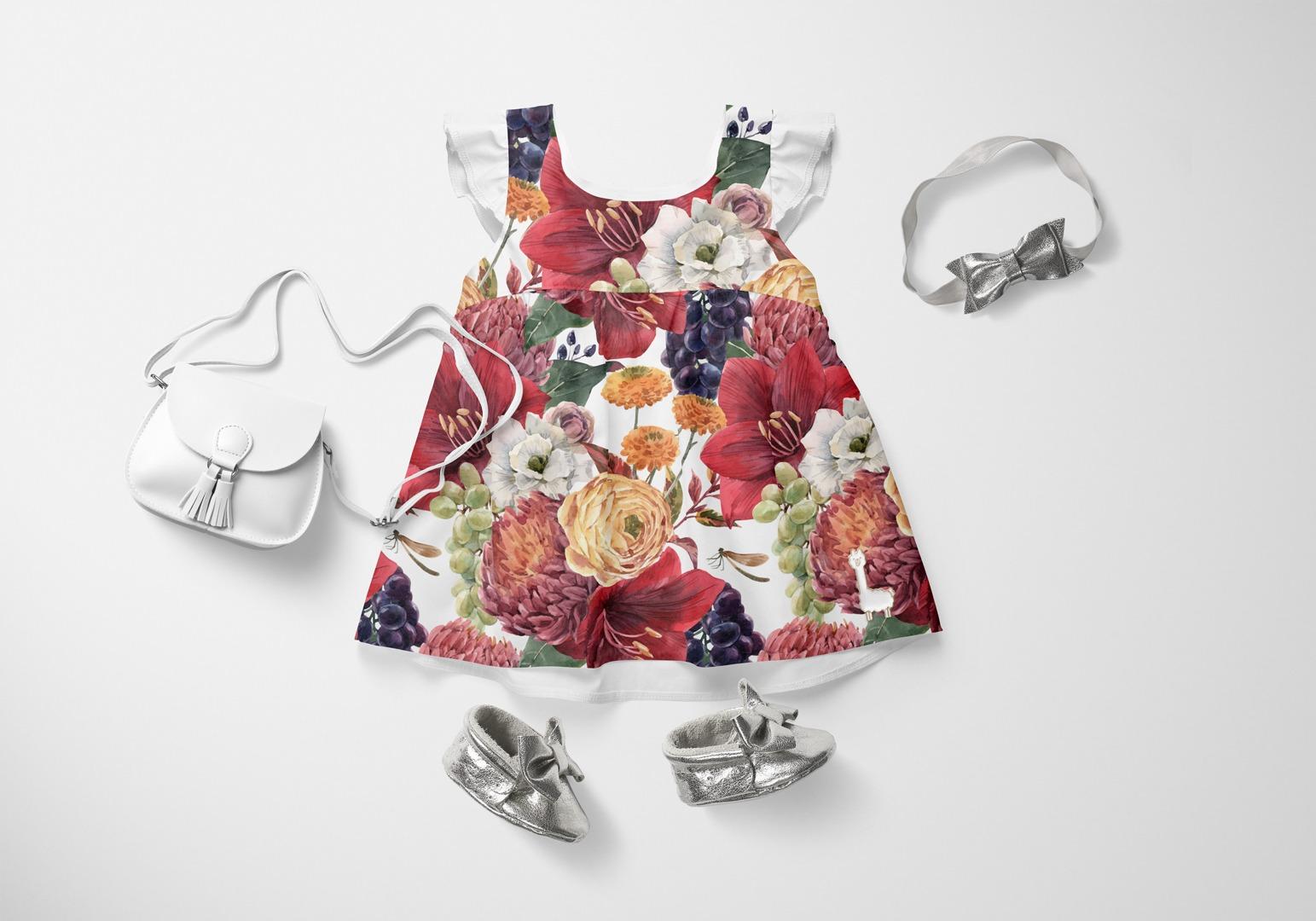 látka-bavlna-premium-jesenné-kvety-a-hrozno