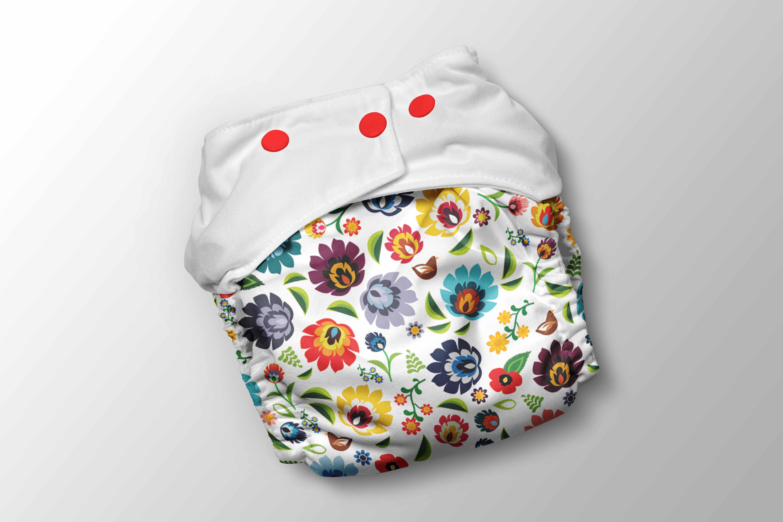 panel-na-pul-nohavičky-folk-flowers-white-