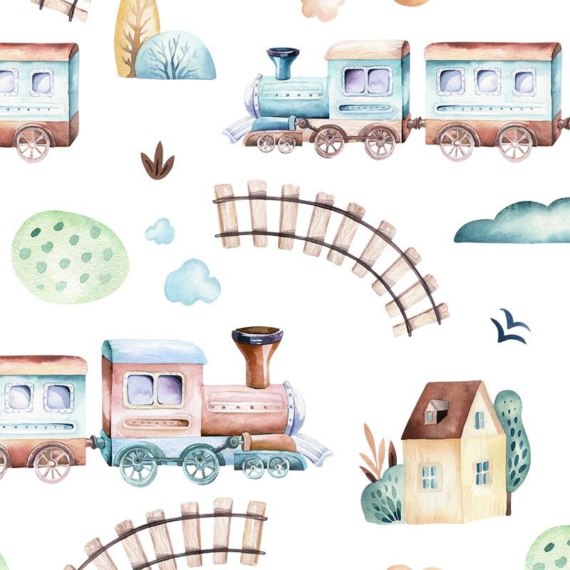 látka-s-potlačou-nepremokavý-polyester-td/ns-trains/vláčiky