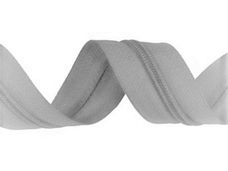 zips-špirálový-3-mm-svetlošedý