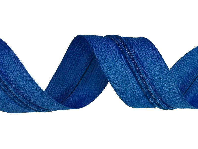 zips-špirálový-3-mm-modrý