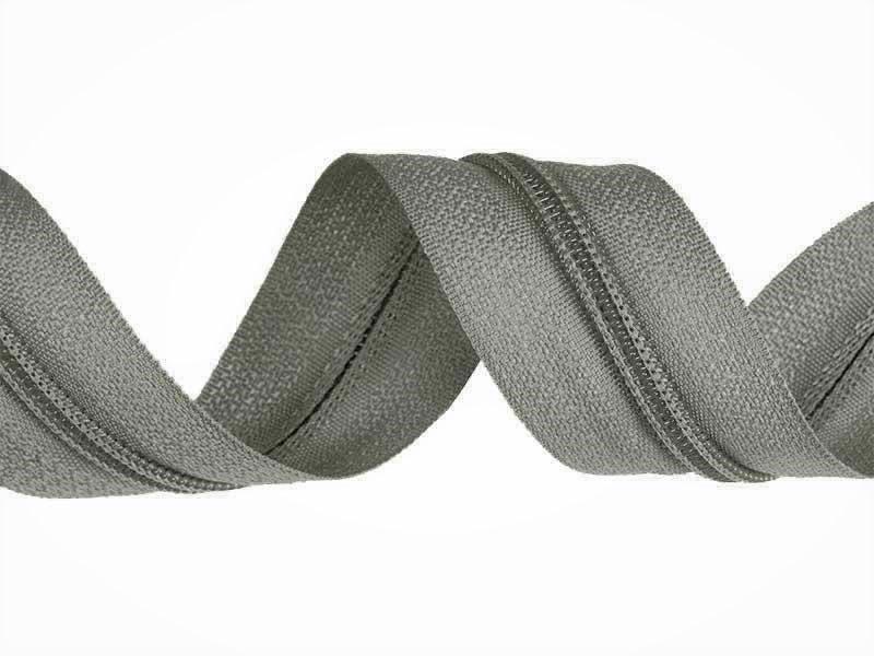 zips-špirálový-3-mm-šedý