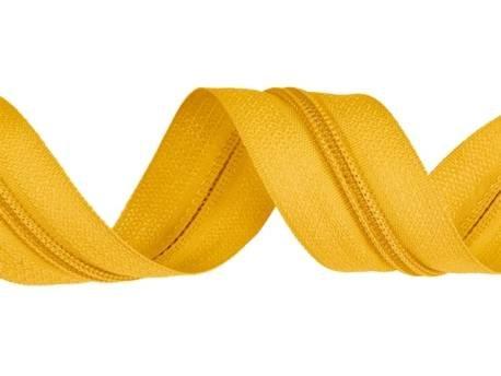 zips-špirálový-3-mm-žltý